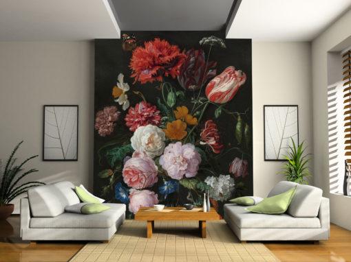 Tapety na płótnie - MS Design Studio - Tapeta w kwiaty holenderskie